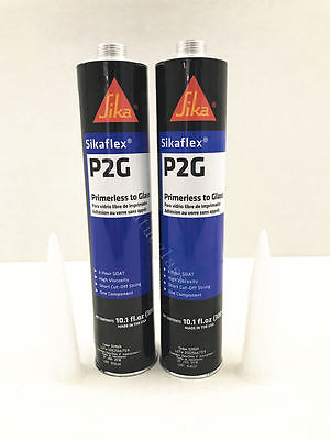 Auto Glass Sealant Windshield Urethane Glue SIKA TITAN Primerless Adhesive 2 pc