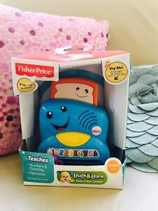 New Fisher Price Peek a boo toaster RRP $25 Chatswood Willoughby Area Preview