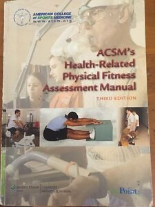 ACSM's Health - Related Physical Fitness Assessment Manual Coorparoo Brisbane South East Preview