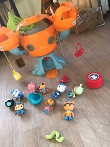 Octonauts pod and characters Scarborough Stirling Area Preview