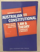 Blackshield and Williams Australian Constitutional Law and Theory Victoria Point Redland Area Preview