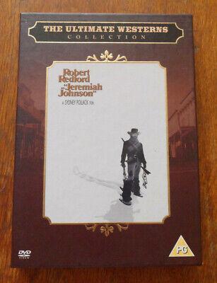 Jeremiah Johnson (1972) DVD Sydney Pollack Robert Redford Will Geer