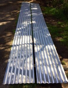 TWO LONG PIECES OF CORRUGATED IRON  6m x 59cm Sorrento Mornington Peninsula Preview