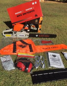 POWERFUL 58cc Chainsaw with 20' Bar & Safety Gear South Yunderup Mandurah Area Preview