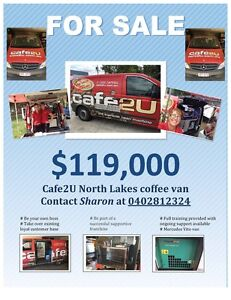 Mobile coffee van franchise business Petrie Pine Rivers Area Preview