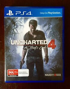 Ps4 Uncharted 4 Thief's End 'AS NEW' $38 or Swap/Trade Preston Darebin Area Preview