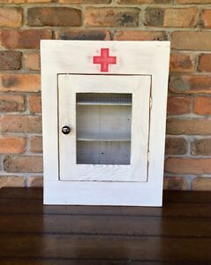 Vintage Medicine Cabinet Black Hill Cessnock Area Preview