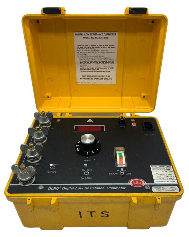 Biddle 247001 DLRO Digital Low Resistance Ohmmeter