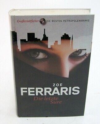 "Buch Zoe Ferraris "" Die letzte Sure "" Großstadtfieber - beste Metropolenkrimis"