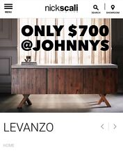 Nick Scali Cooper and Levanzo TV Units - 60% off Dandenong South Greater Dandenong Preview