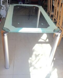Temper glass table- good condition Carlingford The Hills District Preview