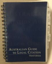Australian Guide to Legal Citation Victoria Point Redland Area Preview
