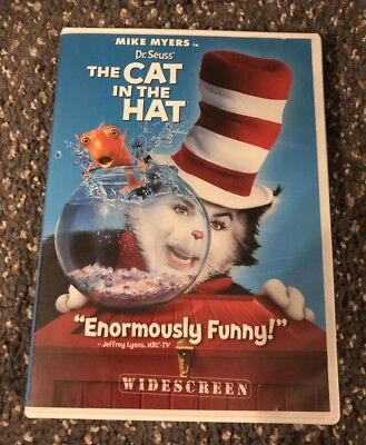 Mike Meyers in Dr. Seuss' The CAT IN THE HAT DVD, Widescreen, DreamWorks - Dr Seuss The Cat In The Hat