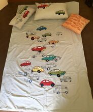 Bedspread Cover and cushion set - Single Size Vintage Cars Willagee Melville Area Preview
