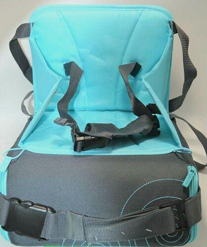 Munchkin Brica GoBoost Travel Booster Seat, Blue/Grey (Blue)