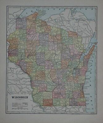 1855 GA MAP TELFAIR TERRELL THOMAS TIFT TOOMBS TOWNS TREUTIEN TROUP COUNTY huge