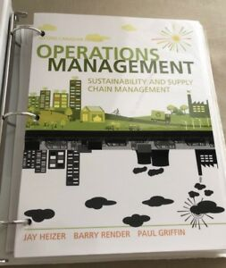 Operations management 2nd edition