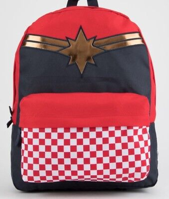 ad2f1f475e VANS x MARVEL Captain Marvel BACKPACK NEW WITH TAGS