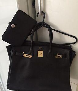 Genuine Togo leather bag & wallet set! Keilor Downs Brimbank Area Preview