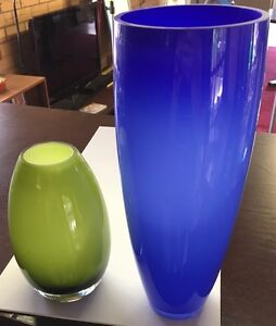 Decorative glass vases Birkdale Redland Area Preview