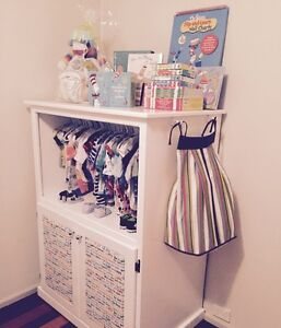 Dr Seuss Designer Cupboard w/ Hanging Space Strathpine Pine Rivers Area Preview