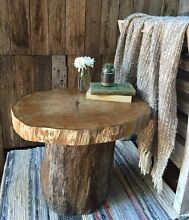 One of a kind tree slab side table Elanora Heights Pittwater Area Preview