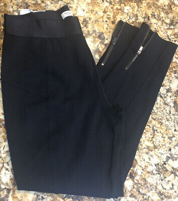 Abercrombie Fitch Womens Black Stretch Pants Size Large