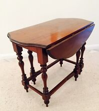 Antique Drop Leaf Gateleg Table Caringbah Sutherland Area Preview