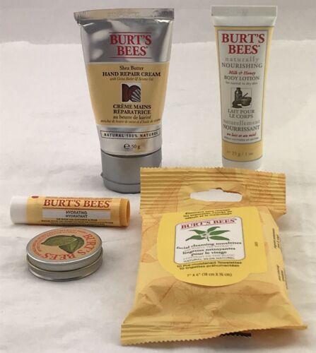 Handcreme Lippenbalsam Burt´s Bees 5 Er Set Geschenkset