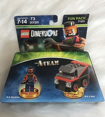 Lego Dimensions The A-Team Fun Pack - B.A. Baracus - Brand New - UK SELLER 🇬🇧