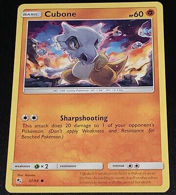 Common Cubone Hidden Fates 37//68