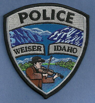 WEISER IDAHO POLICE PATCH