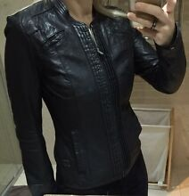Gstar Raw womens fitted leather jacket Kingston South Canberra Preview