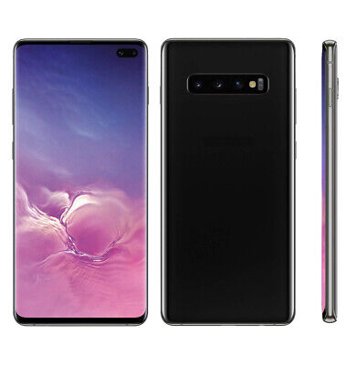 Non Working Black 1:1 Fake Dummy Display Phone Toy for Samsung Galaxy S10+ Plus
