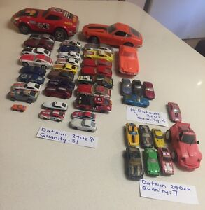 **LARGE DATSUN 240-280z MODEL CAR COLLECTION** Cygnet Huon Valley Preview
