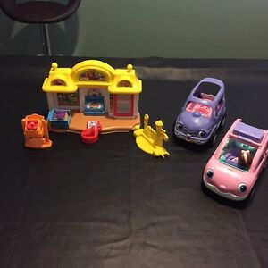 Fisher price shop & cars Port Kennedy Rockingham Area Preview