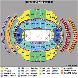 2 New York Rangers Playoff vs. Washington Capitals Tickets 05/12/13