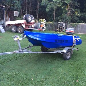 3m Polycraft,15hp and trailer Redlynch Cairns City Preview