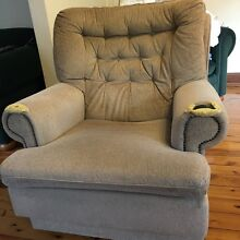 Classic rocking armchair ready for reupholstery Hunters Hill Hunters Hill Area Preview