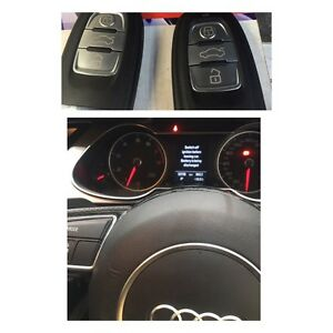 Audi key cutting and programming & lost key programming Brighton Bayside Area Preview