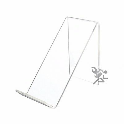 4 1 2  Clear Acrylic Slanted Display Stand Easel Qty  1