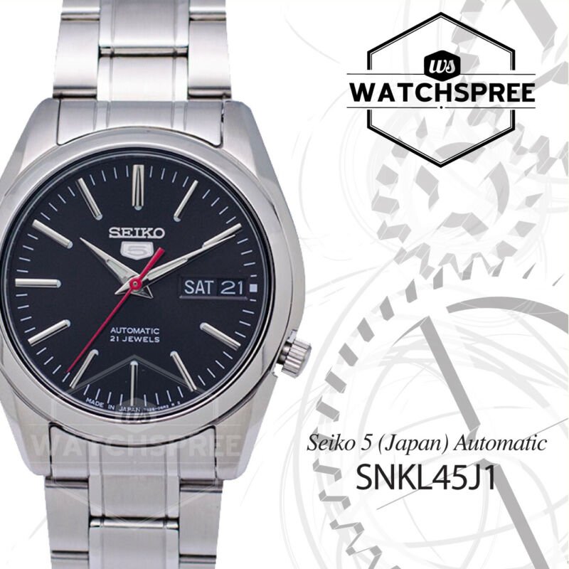 Seiko 5 (Japan Made) Automatic Watch SNKL45J1