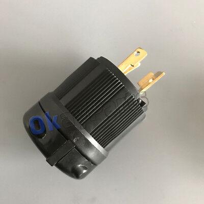 NEMA L6-30P L630P Industrial Twist Lock Male Locking Plug 30A 250V 2-Pole (3 Pole Locking Plug)
