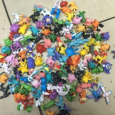 New 144pcs/set Pikachu Pokemon Go Mini Action Figure Toy 1
