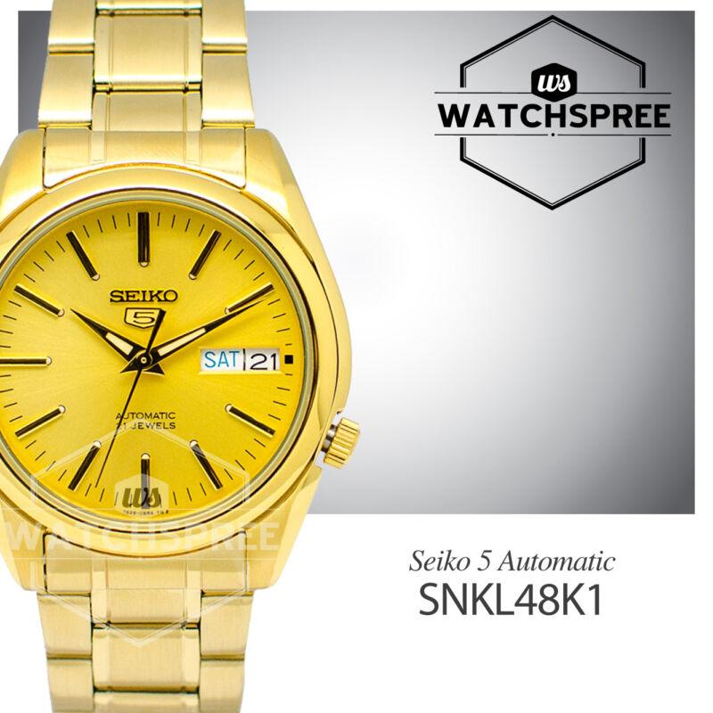 Seiko 5 Automatic Watch SNKL48K1 SNKL48K
