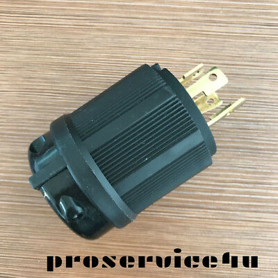 Nemal 1430p L14-30p Locking Generator Plug 125 250v 30 Amp Ul Approval Safety