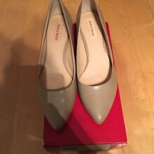 Diana Ferrari - neutral kitten heel  pumps Canada Bay Canada Bay Area Preview