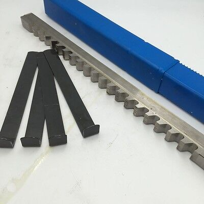 Keyway Broach 58 E Push Type Hss Inch Size Shim Involute Spline Cutter