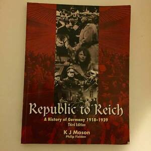 Republic to Reich- A History of Germany******1939 Wahroonga Ku-ring-gai Area Preview