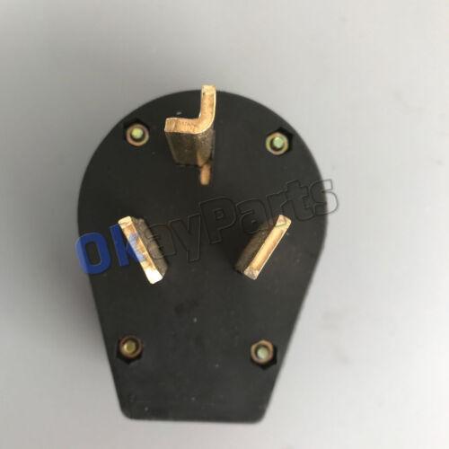 Cooper RV & Generator NEMA 10-30P 125/250V, Dryer Power Plug 10-30P